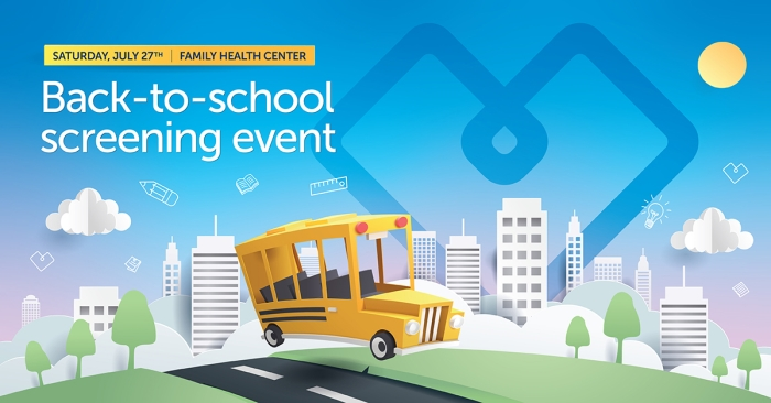 back to school event graphic