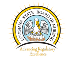 LA State Board of Nursing logo